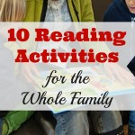 10 Reading Activities for the Whole Family