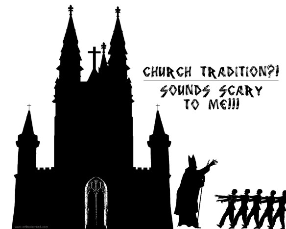 church zombie tradition