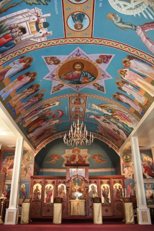 Ss Peter and Paul Orthodox Church inside