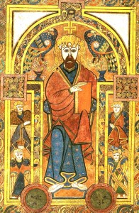 Book of Kells - Christ Pantocrator