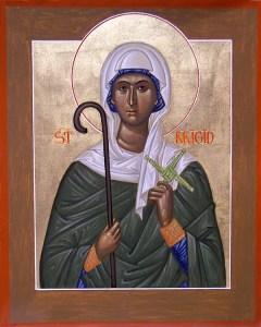 St Brigid Bridget of Ireland