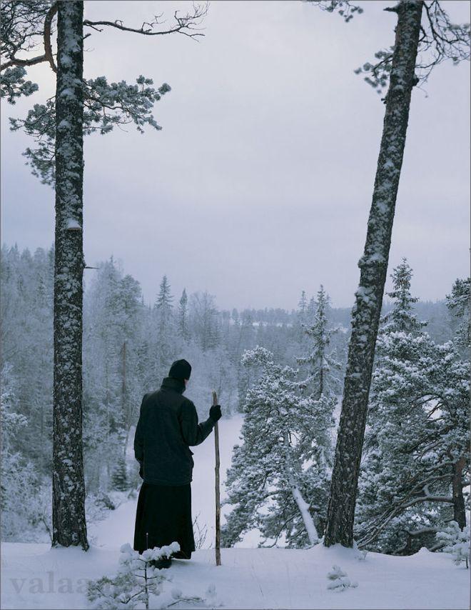 Winter by Hieromonk Savvaty (Valaam Monastery)