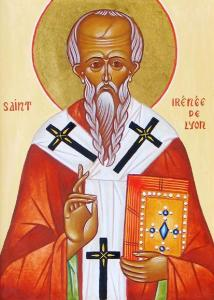 St Irenaeus of Lyons wrote against the strange pagan myths that attempted to distort Christianity