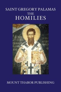St Gregory Palamas Homilies by Mt. Thabor Publishing