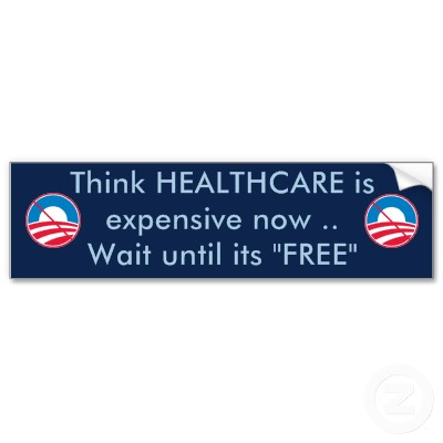 "When health care is promoted as ""free"""