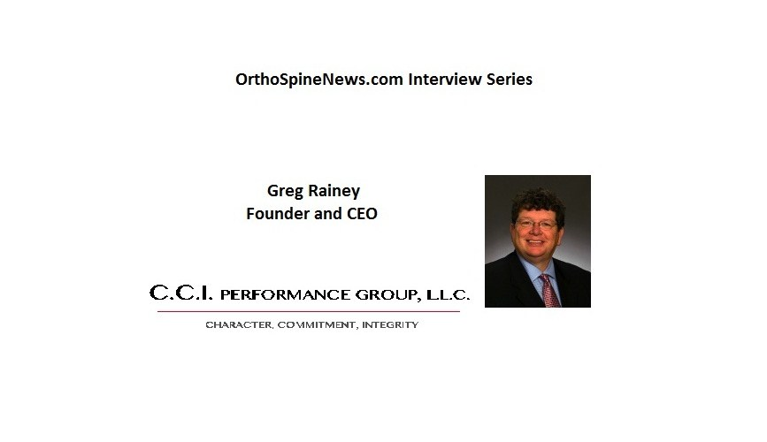 CEO Interview Series, Greg Rainey from CCI Performance