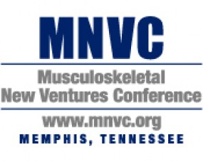 2013 Musculoskeletal New Ventures Conference This Week