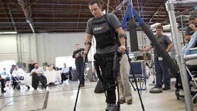 Photo of Robotics company Ekso helps disabled walk