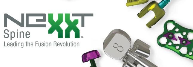 Nexxt Spine Announces Full Market Release of INERTIA CORTI-FIXX™ Cortical-Cancellous Pedicle Screw System