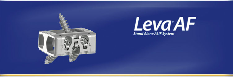 Spine Wave Announces the Commercial Launch of the Leva® AF Interbody Device
