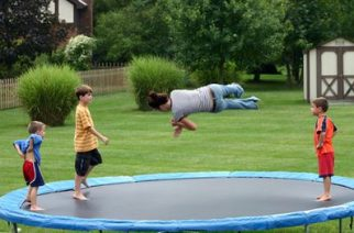 Orthopaedic surgeons warn parents and young children about the dangers of trampolines