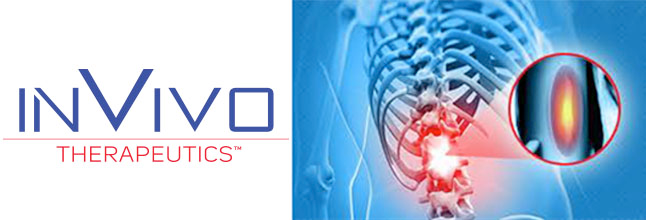InVivo Therapeutics Announces Publication in Neurosurgery of Lifetime Hospitalization Costs for Thoracic Spinal Cord Injury Patients by Severity Grade