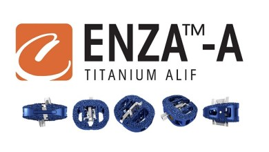Photo of Camber Spine Announces 510(k) Approval Of ENZA™-A Titanium ALIF
