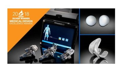 Photo of Exactech's Truliant® Knee System Honored as Winner in the Medical Design Excellence Awards (MDEA)