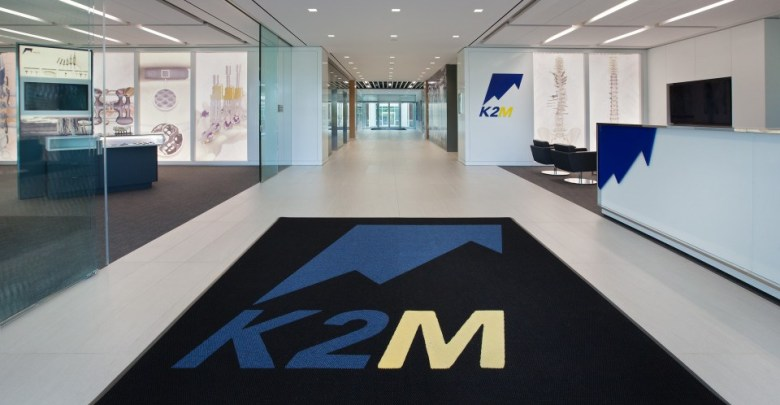K2M Receives FDA Clearance Including Surgical Guidance that Enhances