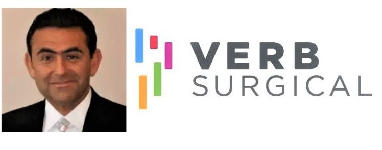 Verb Surgical Announces Kurt Azarbarzin as President and CEO |