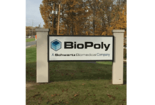 Photo of BioPoly® Granted US Patent