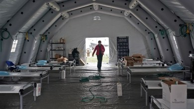 Photo of 'It's surreal,' nurse practitioner says of field hospital set up in Central Park amid coronavirus pandemic