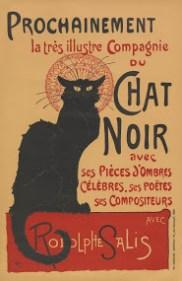 Tournée du Chat Noir, 1896, litografia a colori – Fonte: Van Gogh Museum