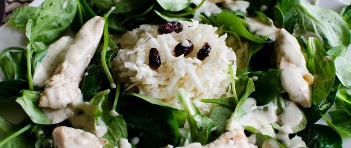 Feestelijke wintersalade