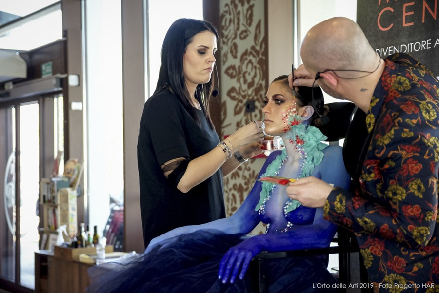 Make-up incontra l'arte