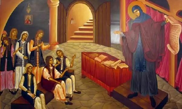 19 Şubat Atinalı azize Filotei