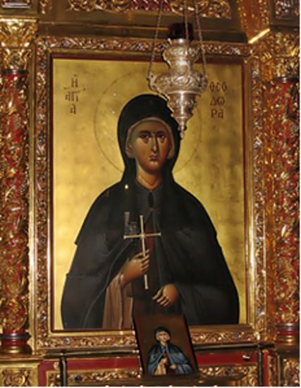 29 Ağustos  Azize Annemiz Selanikli Theodora