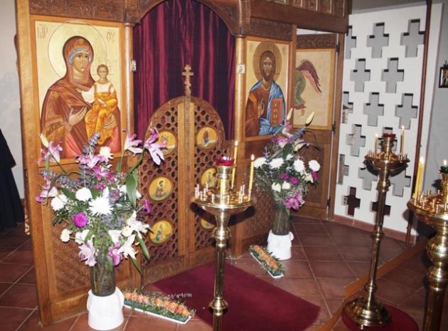 (Română) 18 august: prima slujbă după vacanță la biserica din Vanves