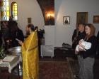 Taina Sf. Botez şi a Sfintei Cununii celebrate la Biserica Cuv. Serafim de Sarov din Montgeron