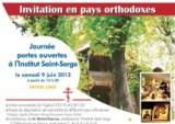 JOURNÉE PORTES OUVERTES DE L'INSTITUT SAINT-SERGE, LE 9 JUIN