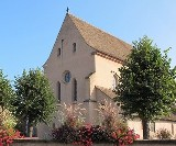 (Română) Procesiune cu moaştele Sfintei Sofia la Eschau – Strasbourg