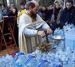 (Foto) Franța: Sfințirea Agheazmei la râul Yerre, Biserica Sf. Serafim de Sarov din Montgeron