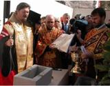 Franţa: În Paris a fost sfinţită piatra de temelie a noii catedrale ruse