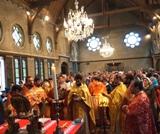 Franţa: La capul Sfîntului Ioan Botezătorul în Amiens a fost săvîrşită Sfînta şi Dumnezeiasca Liturghie
