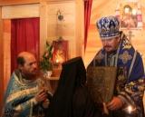 Franţa: Sărbătoarea Acoperămîntul Maicii Domnului la Skitul din Saint Mars de Locquenay