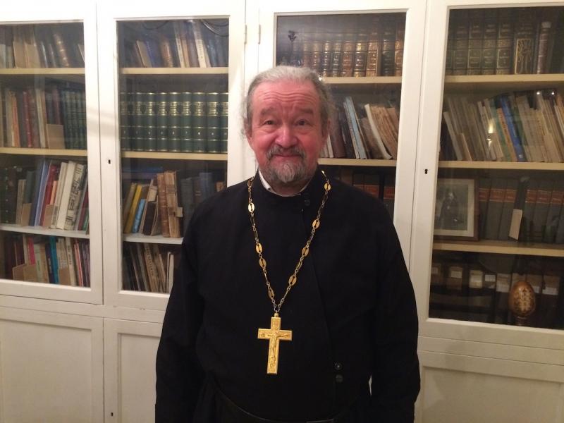 Cuvânt la înmormântarea părintelui Nicolai Nikișin