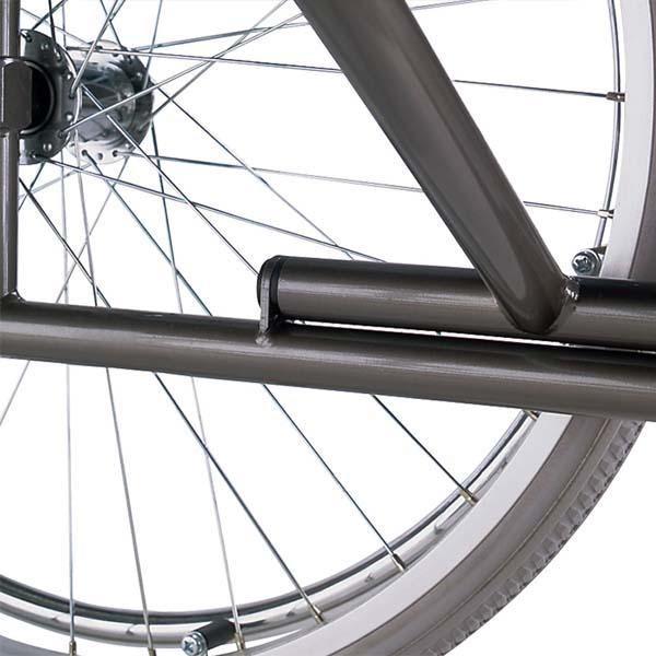 Silla de ruedas plegable de acero autopropulsable S-ECO2 de B+B