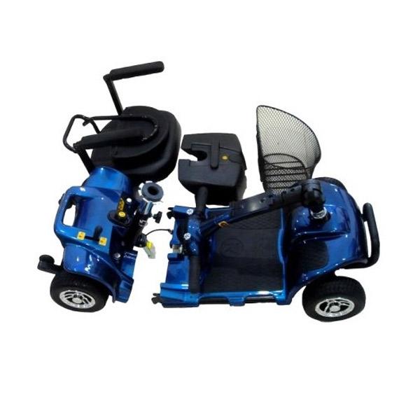 Scooter eléctrico 4 ruedas Smart Libercar para exteriores e interiores-2