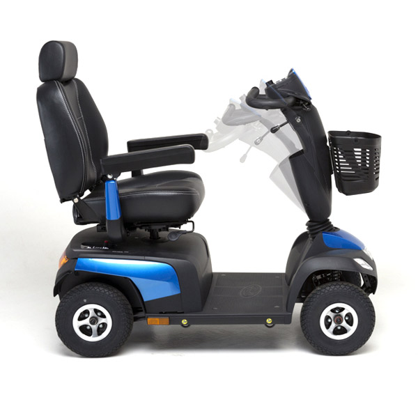 Scooter eléctrico Orion Pro Invacare Comodidad, seguridad y fiabilidad-2