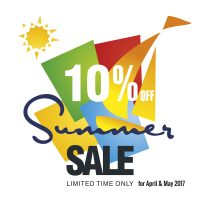 Enjoy our special early summer offers !!