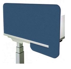 Neofelt Slip-on acoustic desk divider_R