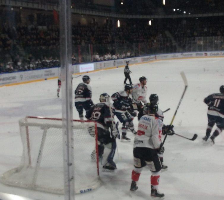 Sortie cinéma et hockey sur glace