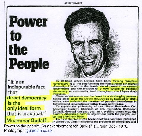 Gaddafi PowerPeople