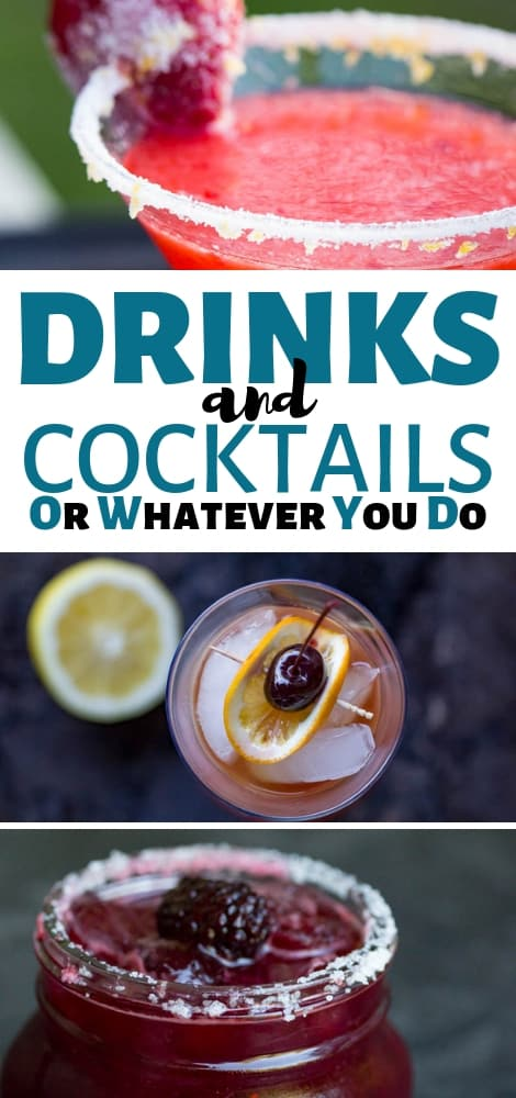 Easy Cocktail Recipes Delicious Drink Recipes From Or Whatever You Do
