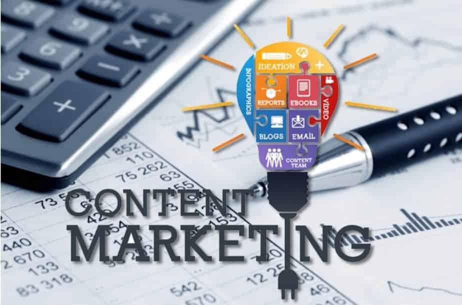 Content marketing web e social