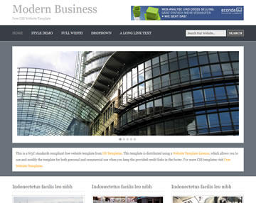 In this modern age, it often seems like everyone and every business has a website. Modern Business Website Template Free Website Templates Os Templates