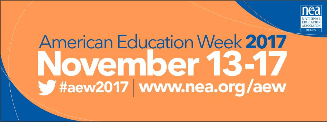 American Education Week Banner