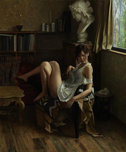 2013年「画室」F130号 キャンバス、エマルジョン地、油彩