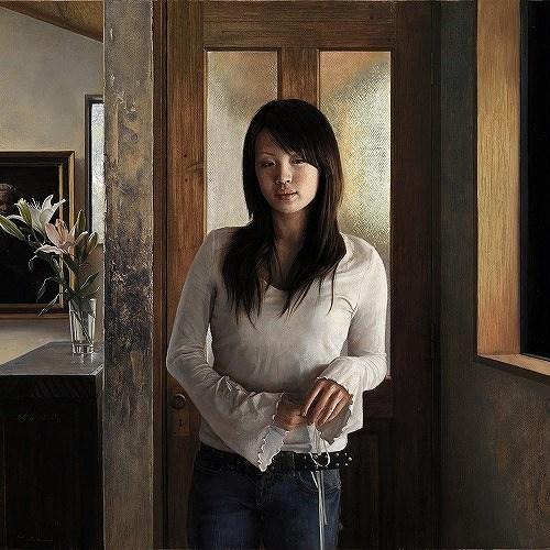 2014年「画室」P50号 パネル、白亜地、油彩