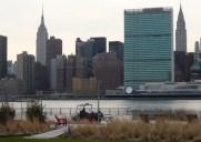 近年急ピッチに開発が進むウォーターフロント「ロングアイランドシティー 」